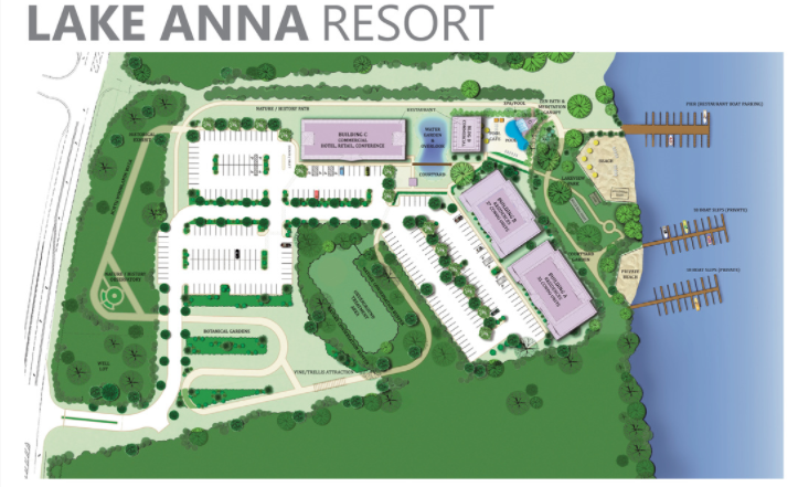 Lake Anna Resort Plans